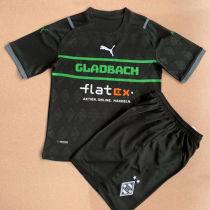 2021/22 Monchengladbach Black Kids Soccer Jersey