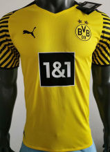 2021/22 BVB Home Yellow Player Soccer Jersey