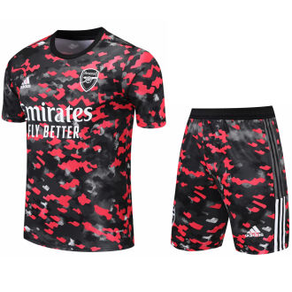 2021/22 ARS Camouflage Short Training Jersey(A Set)拉链口袋