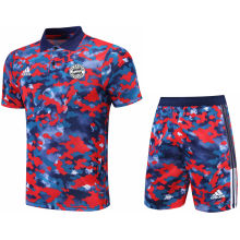 2021/22 BFC Camouflagee Short POLO Jersey(A Set)拉链口袋
