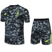 2021/22 JUV Camouflagee Short Training Jersey(A Set)拉链口袋