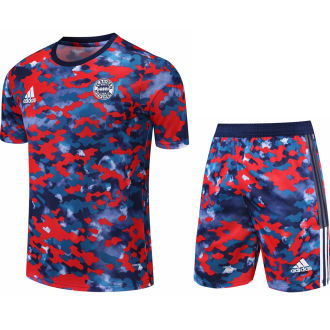 2021/22 BFC Camouflagee Short Training Jersey(A Set)拉链口袋