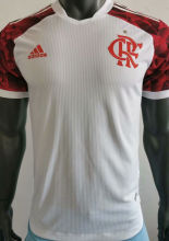 2021/22 Flamengo Away White Player Version Soccer Jersey