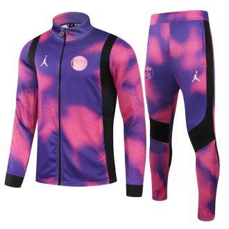 2021/22 PSG Pink Purple Jacket Tracksuit