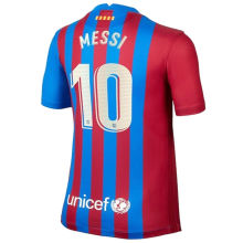 MESSI #10 BA 1:1 Home Fans Soccer Jersey 2021/22 (League Player Fonts 球员字体)