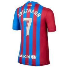 GRIEZMANN #7 BA 1:1 Home Fans Soccer Jersey 2021/22 (League Player Fonts 球员字体)