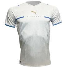 2021/22 Uruguay Away White Fans Soccer Jersey