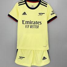 2021/22 ARS Away Yellow Kids Soccer Jersey