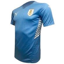 2021/22 Uruguay Home Blue Fans Soccer Jersey