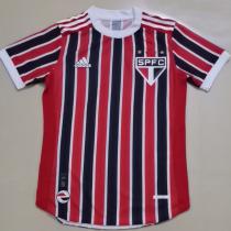 2021/22 Sao Paulo Away Player Version Soccer Jersey
