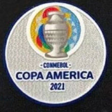 COPA AMERICA 2021 Patch 美洲杯章2021 (You can buy it Or tell me to print it on the Jersey )