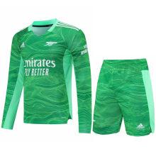 2021/22 ARS Green GK Long Sleeve Soccer Jersey(A Set)
