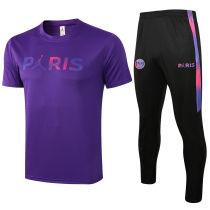 2021/22 PSG PARIS Purple Training Tracksuit