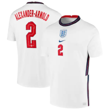 ALEXANDER-ARNOLD #2 England 1:1 Quality White Fans Soccer Jersey2021/2