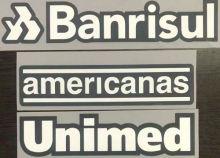 americanas 2021/22 Grêmi Home Three AD Behind  格雷米奥主场背后三条广告