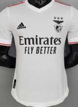 2021/22 Benfica Away White Player Soccer Jerseys