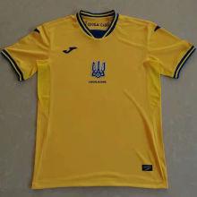 2021/22 Ukraine Home Yellow Fans Soccer Jersey