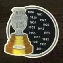COPA AMERICA  15 Cup Patch Uruguay Jersey 15字杯美洲杯乌拉圭专用