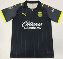 2021/22 Chivas Away Black Fans Soccer Jersey
