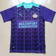 2021/22 PSV Away Blue Fans Soccer Jersey