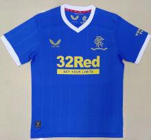 2021/22 Rangers Home Blue Fans Soccer Jersey