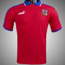 1996 Czech Home Red Retro Soccer Jersey