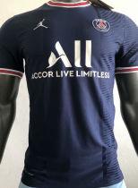 2021/22 PSG JD Home Blue Player Version Soccer Jersey
