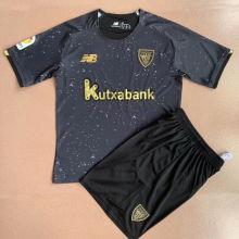 2021/22 Bilbao Athletic Black GK Kids Soccer Jersey