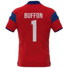 BUFFON #1 Parma Red GK Soccer Jersey 2021/22