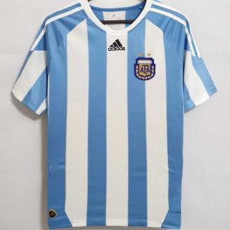 2010 Argentina Home Retro Retro Soccer Jersey