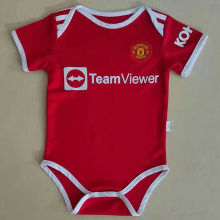 2021/22 Man Utd Home Red Baby Suit