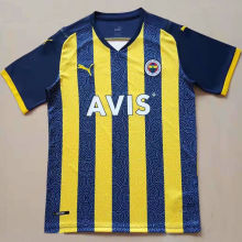 2021/22 Fenerbahce Home Fans Soccer Jersey费内巴切