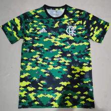 2021/22 Flamengo Green Training Jersey