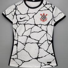2021/22 Corinthians Home White Women Soccer Jersey