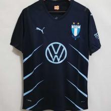 2021/22 Malmo Away Dark Blue Fans Soccer Jersey