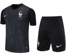 2021/22 France Black GK Soccer Jersey(A Set)