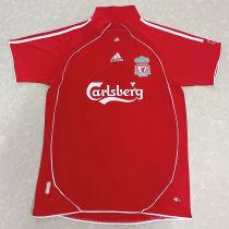 2006/2008 LIV Home Red Retro Soccer Jersey