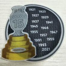 COPA AMERICA  15 Cup Patch Argentina Jersey 新的15字杯美洲杯阿根廷用