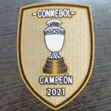2021 CONMEBOL CAMPEON Patch  2021 美洲杯金杯阿根廷用