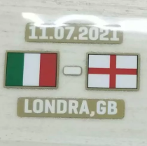 2021 Europe Italy and England Final patch 意大利VS英格兰决赛胸前小字