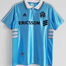 1998/1999 Marseille Away Blue Retro Soccer Jersey