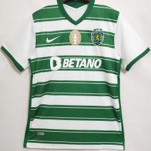 2021/22 Sporting CP Lisbon Home Green Fans Soccer Jersey