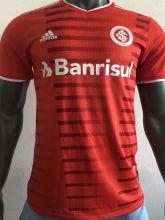 2021/22 Internacional Home Red Player Version Soccer Jersey