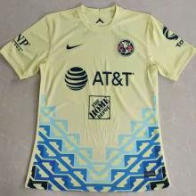 2021/22 Club America Yellow Fans Soccer Jersey