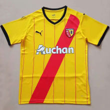 2021/22 Lens Home Yellow Fans Soccer Jersey