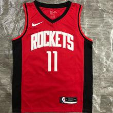 2021 Rockets YAO #11 Red NBA Jerseys Hot Pressed