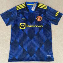 2021/22 M Utd Third Dark Blue Fans Soccer Jersey