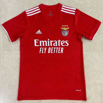 2021/22 Benfica Home Red Fans Soccer Jersey