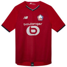 2021/22 Lille Home Red Fans Soccer Jersey