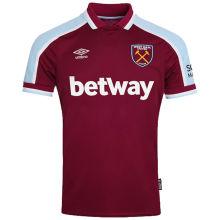 2021/22 West Ham Home Fans Soccer Jersey